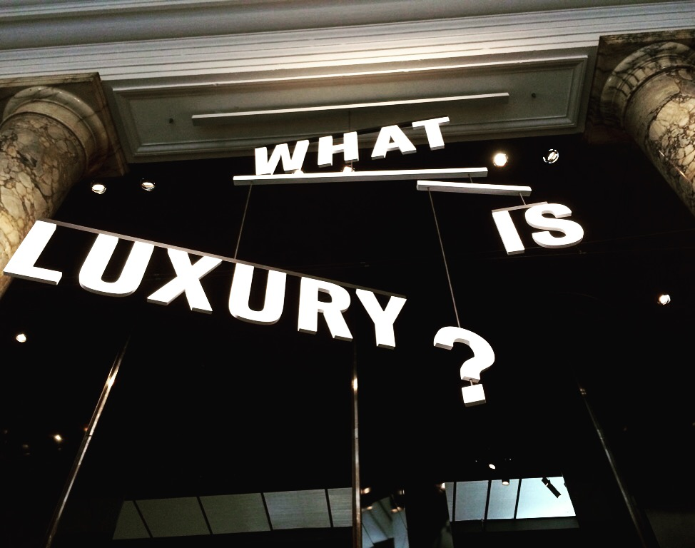 WAT IS LUXE?